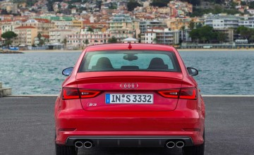 Audi supersaloon powers in