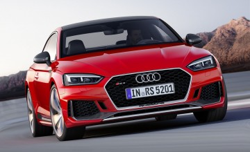 Faster RS 5 Coupe speeds in at Geneva