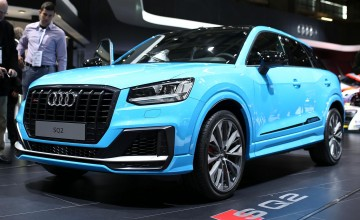 Audi's potent SUV unveiled