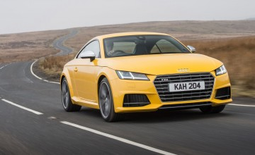 Sporty Audi TTS the complete coupe