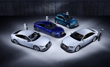 New plug ins from Audi