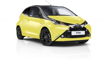 Toyota Aygo designed to x-cite