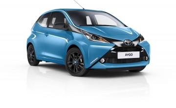 Toyota unveils x-citing Aygo specials