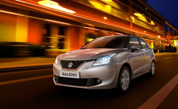 Suzuki Baleno on way to UK