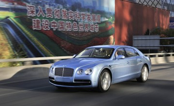 Bentleys in Beijing