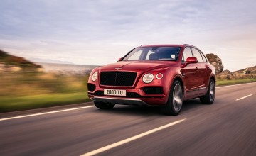 V8 turbo boost for Bentley Bentayga