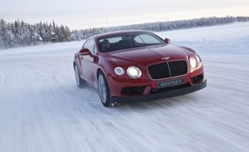 Bentley ice-drive up for grabs