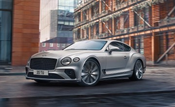 Dynamic new Bentley's up to Speed