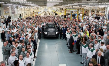 Bentley Bentayga goes into history books