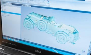 Digital milestone for Bentley Blower