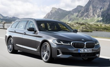 Revamped 5 Series here in July