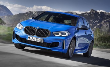 BMW's new 1 Series is up front