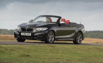 BMW M240i a top down tearaway