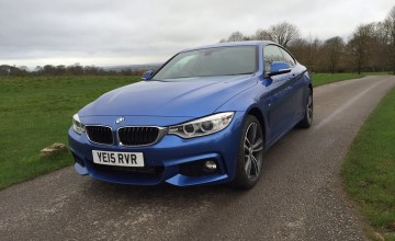 BMW 430i a top sporting coupe