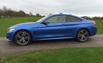 BMW 420d xDrive M Sport Coupe