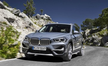 Latest BMW X1 hits the road