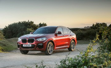 Sportier face of BMW's new X4 SUV