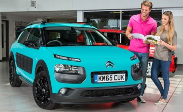 Citroen C4 Cactus Blue HDi 100 Feel