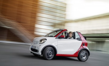 Smart goes topless in spring