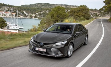 Classy turn with new Toyota Camry