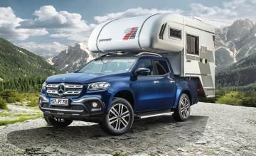Mercedes reveals X-Class camper van