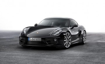 Porsche Cayman goes black