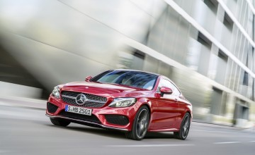 Mercedes C-Class Coupe for Frankfurt debut