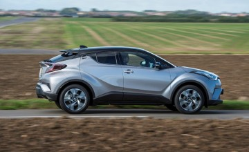 Toyota C-HR a real high rider