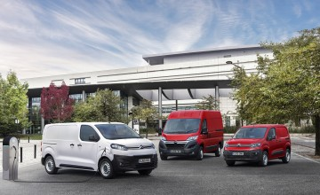 All electric charge for Citroen vans