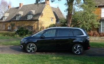 Citroen Grand C4 Space Tourer Flair Blue HDi 160