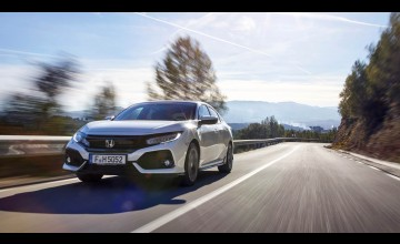 Radical new Honda Civic hits the road