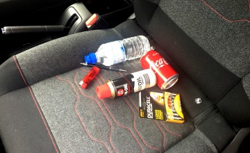 Hot hazards inside your car