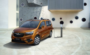 Vauxhall shows new electric MPV