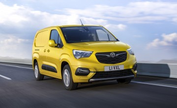 Vauxhall expands electric van line up