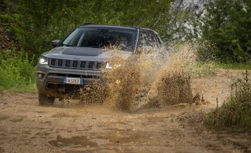 Jeep Compass on the wild side