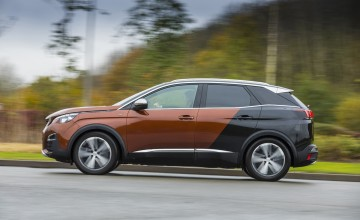 Sci-fi style for new Peugeot 3008