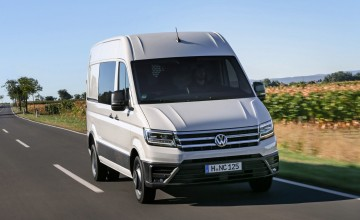 VW Crafter now a greater grafter