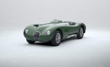 Le Mans C-Type reborn by Jaguar