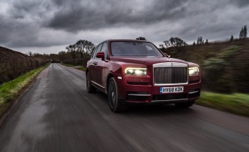 Rolls-Royce Cullinan the gem of SUVs