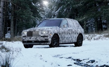 Rolls names new SUV the Cullinan