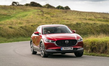 Handsome newcomer plugs Mazda gap