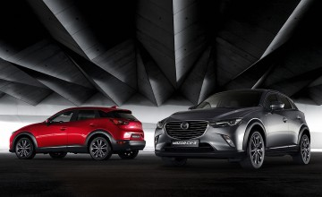 Sporty tweaks for Mazda CX-3