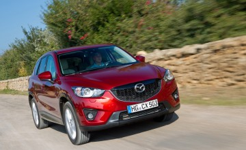 Mazda CX-5 scales new heights