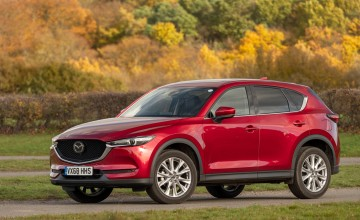 Mazda introduces new CX-5 flagship