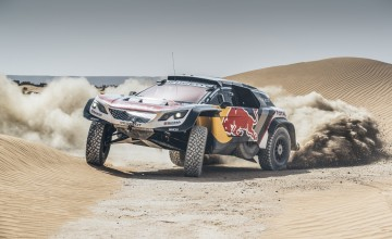 Dakar hat trick for Peugeot