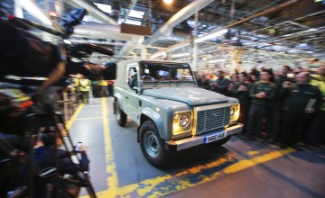 Land Rover Defender reaches end of the road
