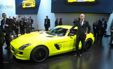 SLS becomes electric supercar