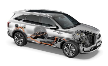 Kia shows it plug-in package