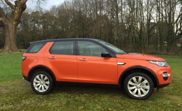 Land Rover Discovery Sport 2.0 TD4 HSE Luxury automatic