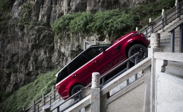 Range Rover's stairway to heaven